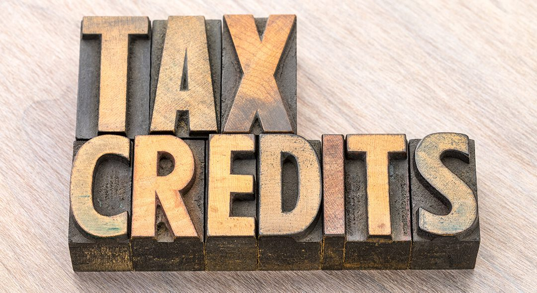 What is the difference between non-refundable and refundable tax credits?