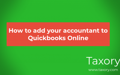 Adding an Accountant to Quickbooks Online