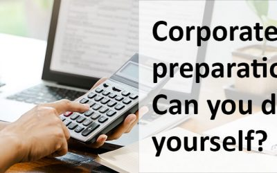 Can a business owner file his corporate taxes?